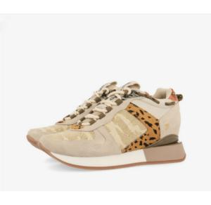 GIOSEPPO Sneakers de cuña interna con tejido de camuflaje Paterson