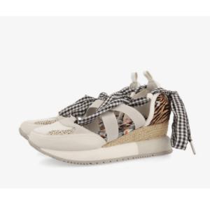 GIOSEPPO Sneakers animal print, vichy y flores Joliet