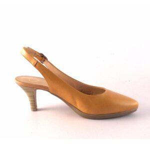 Zapatos de salón destalonados DESIREÉ Total Flex Mara2 Camel