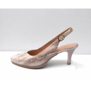 Zapatos de salón destalonados DESIREÉ Total Flex Mara5 salmón