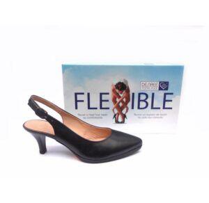 Zapatos de salón destalonados Desireé Total Flex Mara2 azul marino