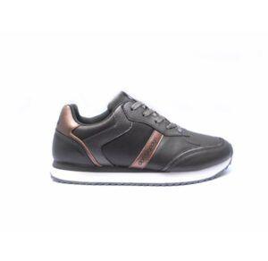Zapatillas deportivas DON ALGODON para mujer plata con bronce