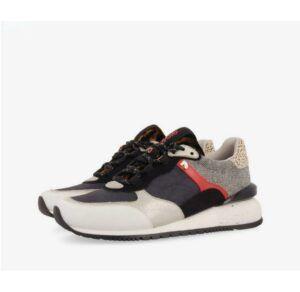 Sneakers multicolores GIOSEPPO Eiker con mix de estampados y materiales
