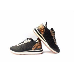 Sneakers mujer YUMAS Kathryn color negro
