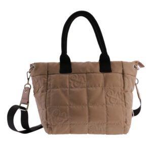 Bolso shopping nylon FUN&BASICS acolchado
